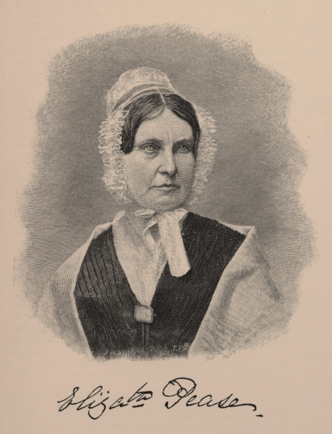 Elizabeth Pease at age 44