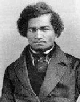 Frederick Douglass as a young man