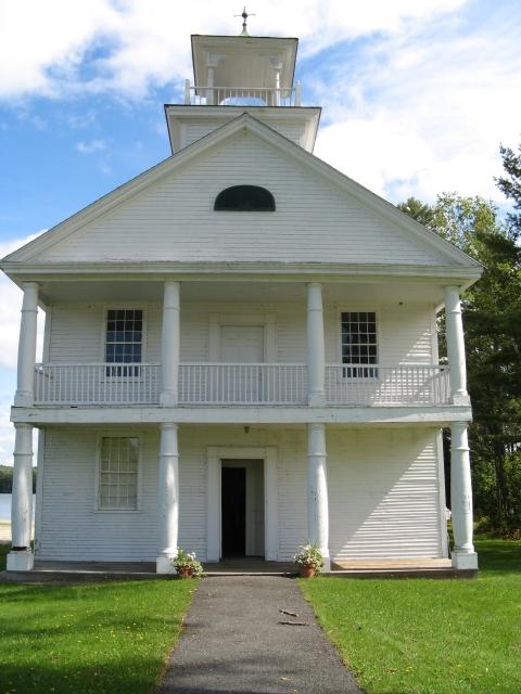 Rebuilt Replica of Noyes Academy
