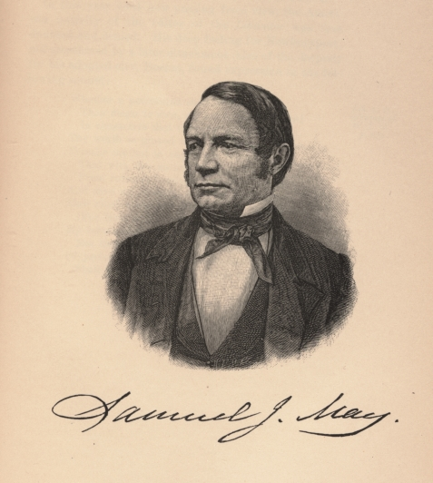 Samuel Joseph May, at age of 50, about 1847