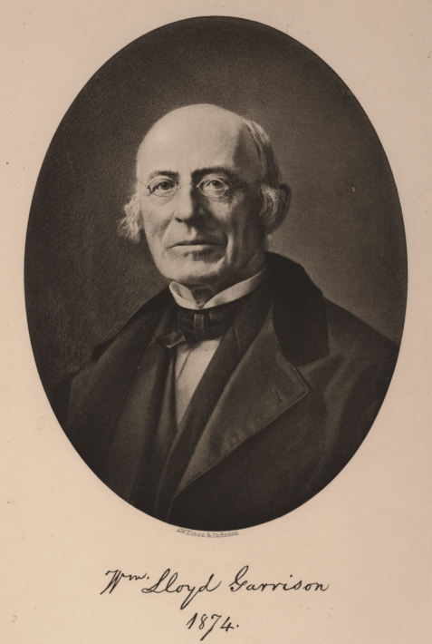 William Lloyd Garrison at age 69