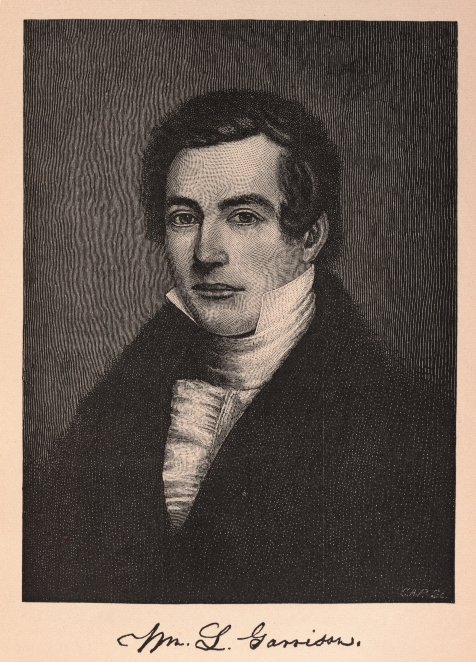 William Lloyd Garrison at age of 20