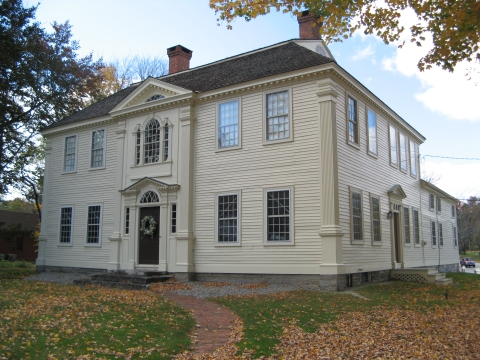 The Crandall Museum, the home of Prudence Crandall