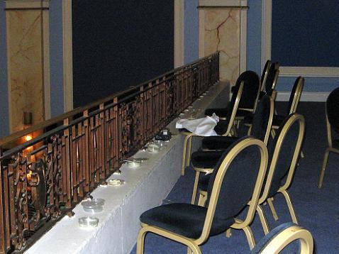 Small Gallery (loft) of the Freemasons Hall