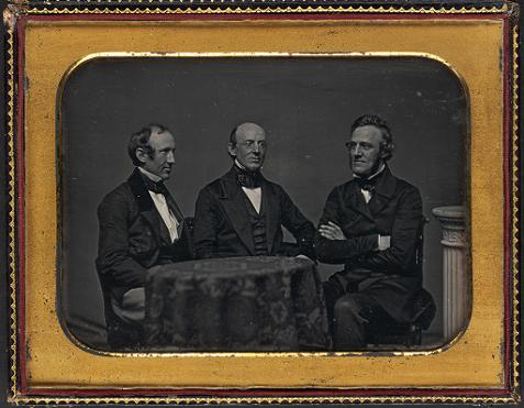 Wendell Phillips, William Lloyd Garrison, George Thompson