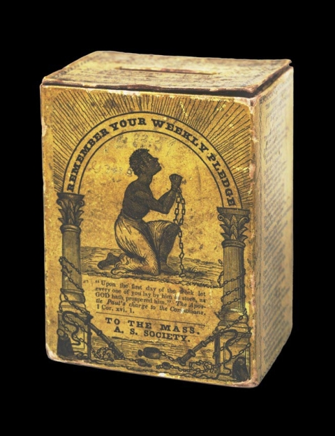 Massachusetts Anti-Slavery Society Contribution Box