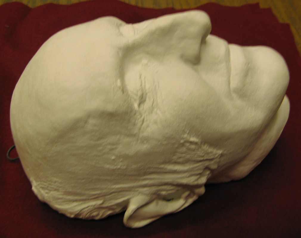 William Lloyd Garrison Death Mask